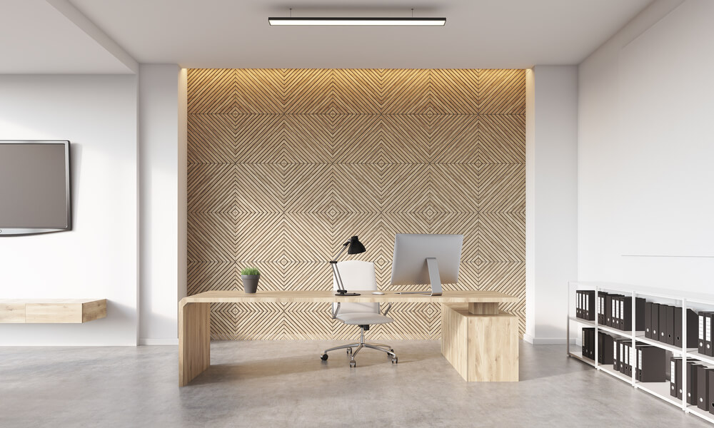 Современный кабинет руководителя компании